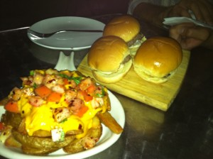 Sliders & DWNTWN Miami fries from DRB