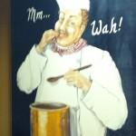 "Chef saying ""Mmm...Wah!"""
