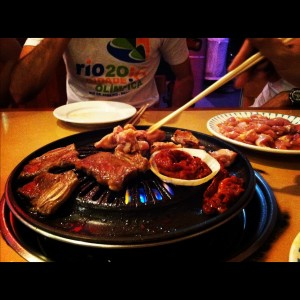 Korean BBQ Table